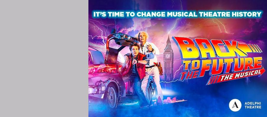 Back To The Future The Musical, Venue To Be Confirmed, Birmingham